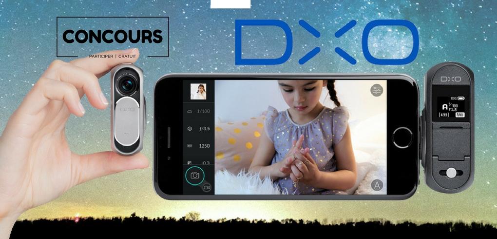caméra compacte DXO ONE qui se fixe sur votre iPhone