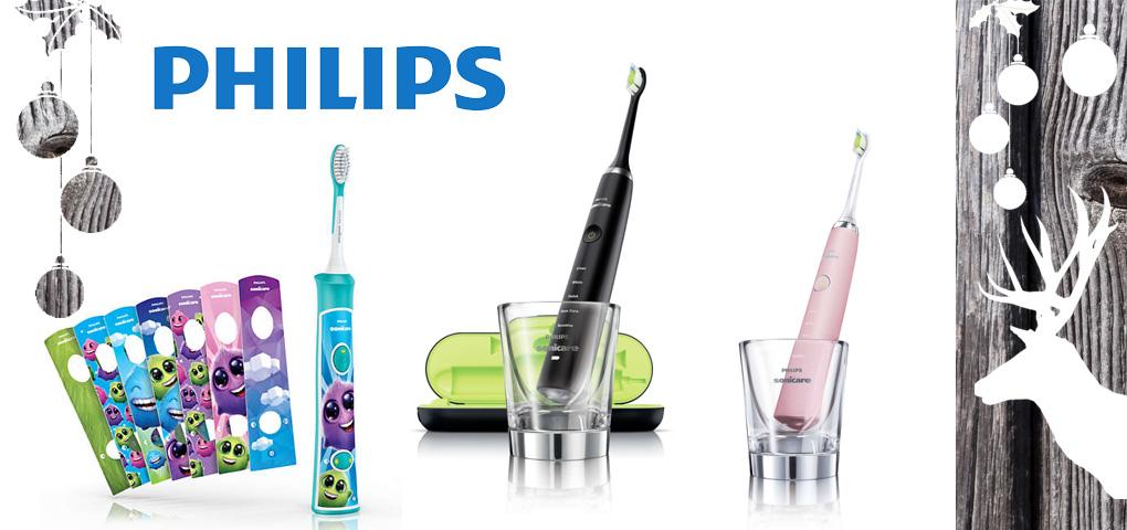 Gagnez trois brosses à dents électriques Phillips pour adultes et enfants!