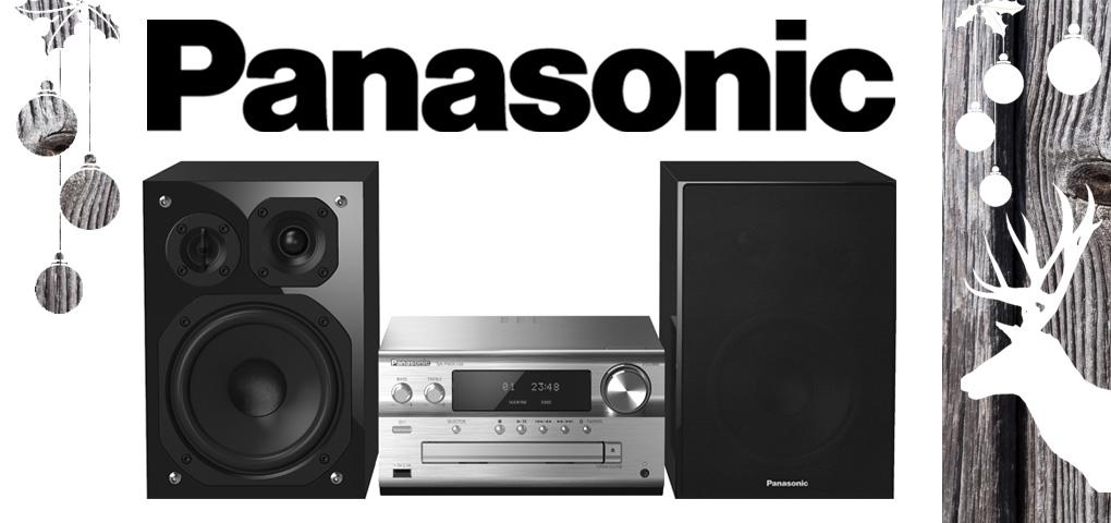Gagnez une micro chaîne haute résolution de Panasonic!