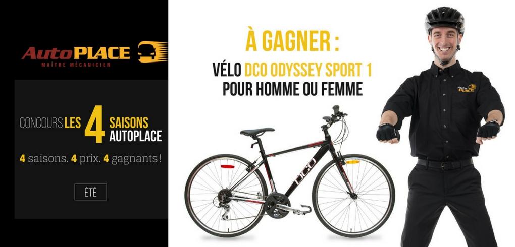 image concours vélo DCO Odyssey Sport fait à Québec en 2017