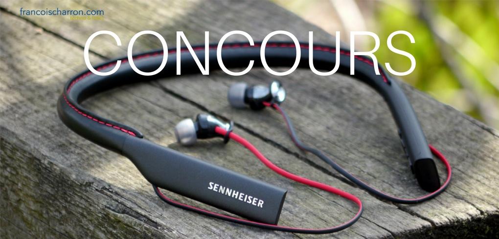 Concours Francois Charron - Gagnez une paire d'écouteurs Bluetooth HD1 In-Ear de Sennheiser!