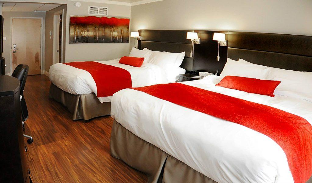 Gagnez une nuitée pour deux incluant le petit-déjeuner à l'Hotel le Dauphin