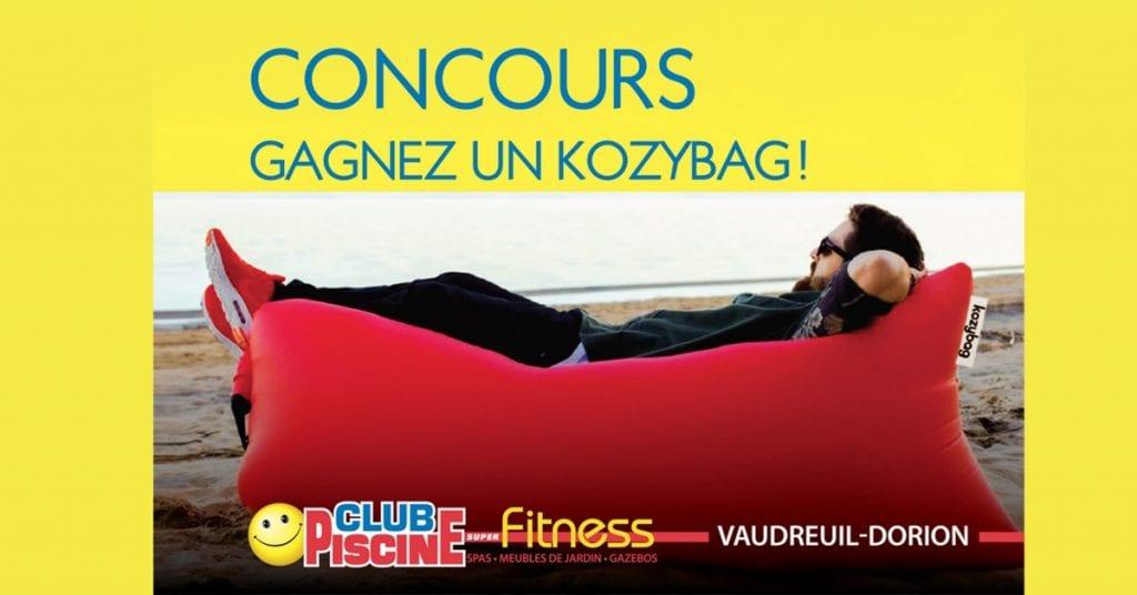 Kozybag Club Piscine Super Fitness