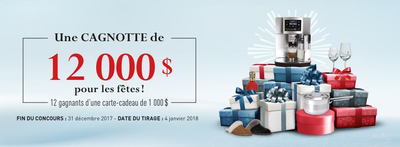 Concours Linen Chest Gagnez une cagnotte de 12 000$ pour les fêtes!