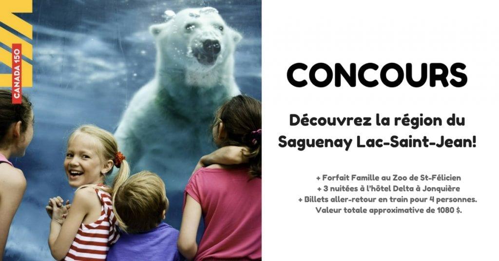 Découvrez la région du Saguenay Lac-Saint-Jean cet été!