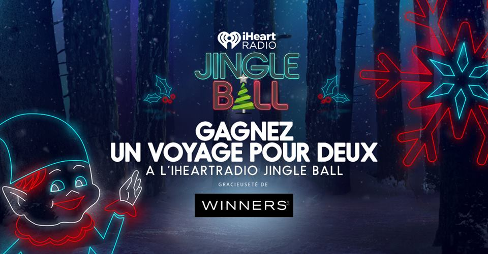 Concours IHeartRadio Jingle Ball 2017