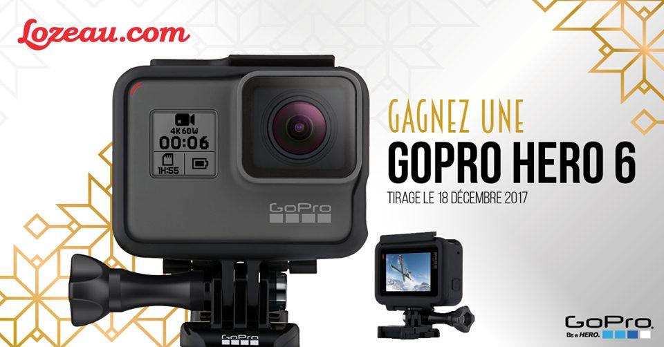 Concours Québec - Gagner une GoPro Hero6 Black!