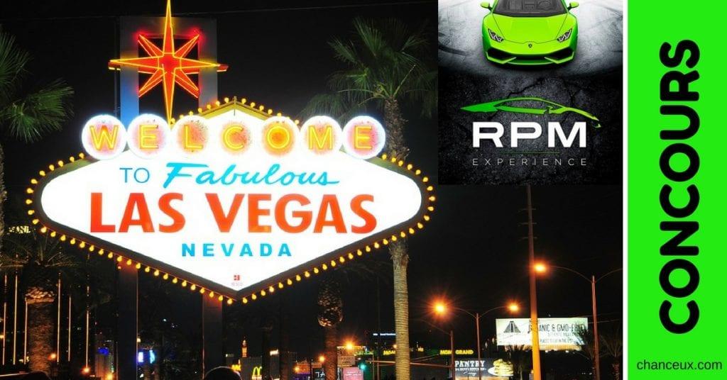 Concours RPM Expérience - Gagnez un voyage pour 2 à Las Vegas