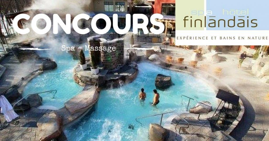 Gagner 2 certificats cadeau massage et un accès au spa le Finlandais.