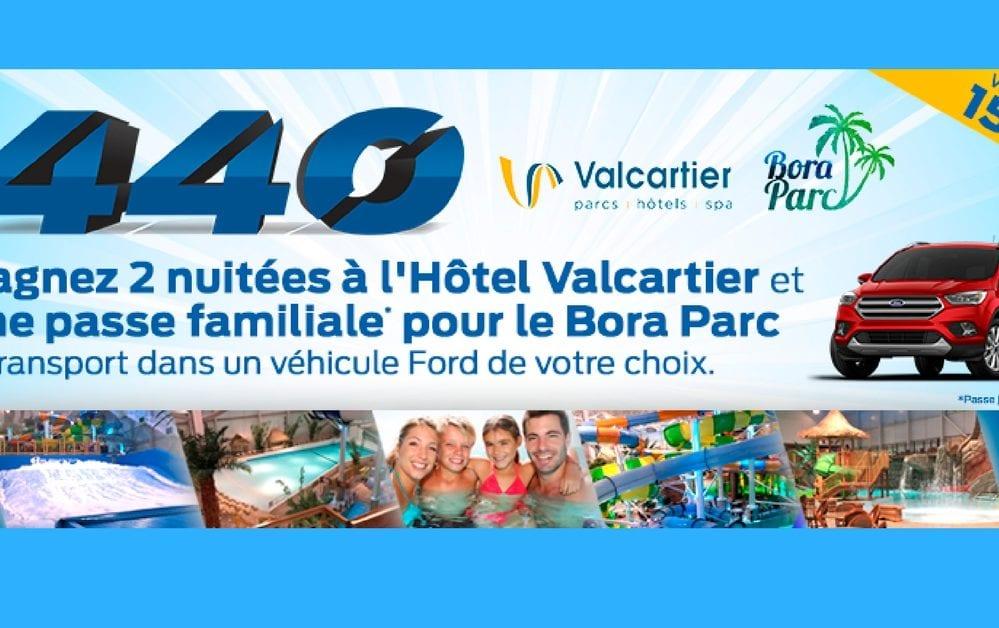 Gagner Un Sejour Au Parc Aquatique Interieur Village Vacances Valcartier