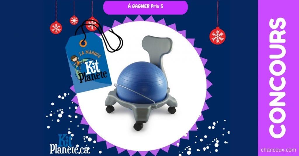 Gagnez un ballon-chaise Kit Planète