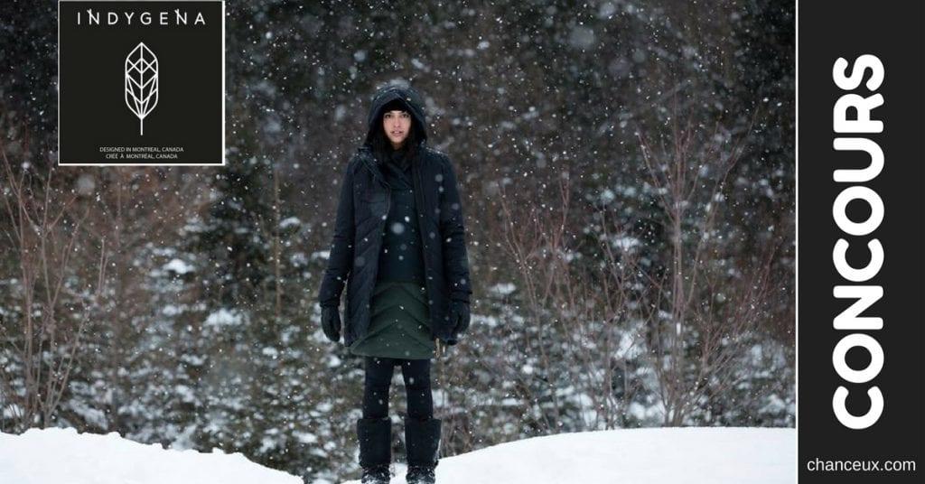 Gagnez un magnifique manteau d'hivers AYABA offert par Indygena