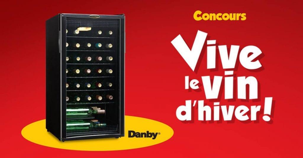 Gagnez un refroidisseur à vin Danby offert par éconoMax d'une valeur de 229$