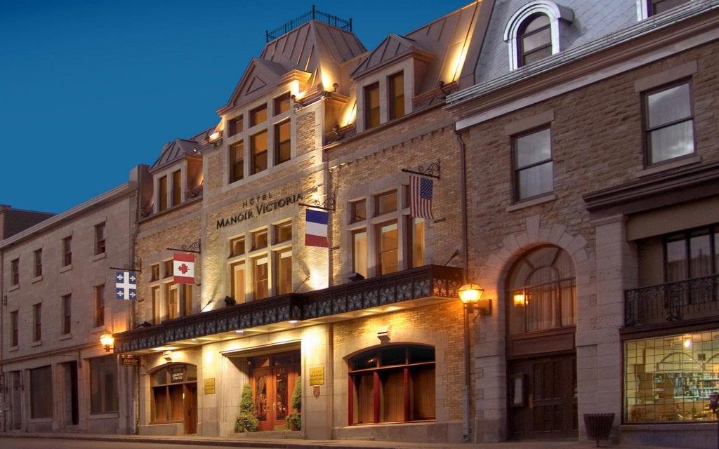 Hôtel Manoir Victoria_Exterieur
