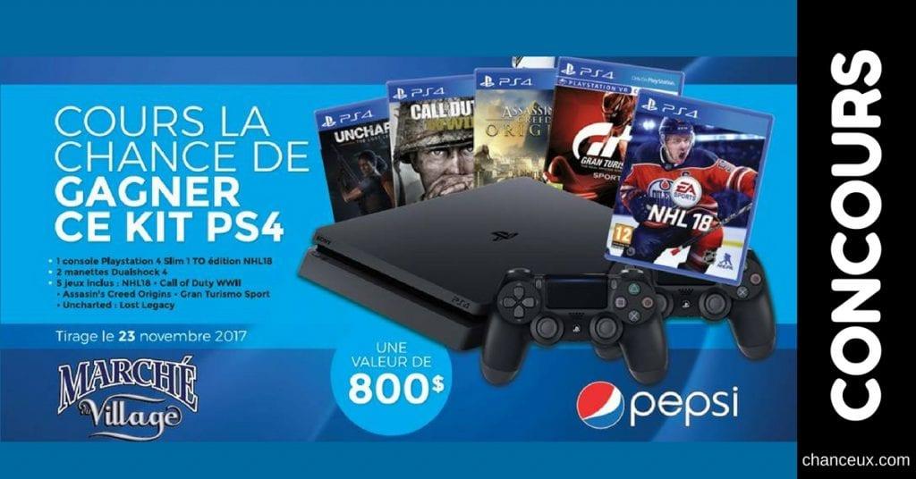 Image Concours Console Playstation et 5 jeux!