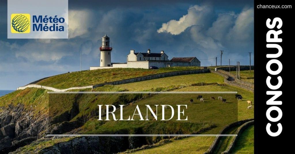 Image concours météo Média voyage irlande