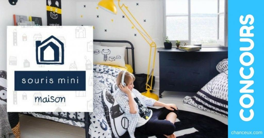 Gagnez une chambre complète signée Souris Mini Maison !