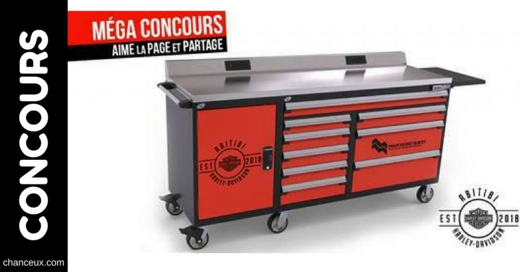 Concours Abitibi Harley-Davidson & M&M Nord Ouest