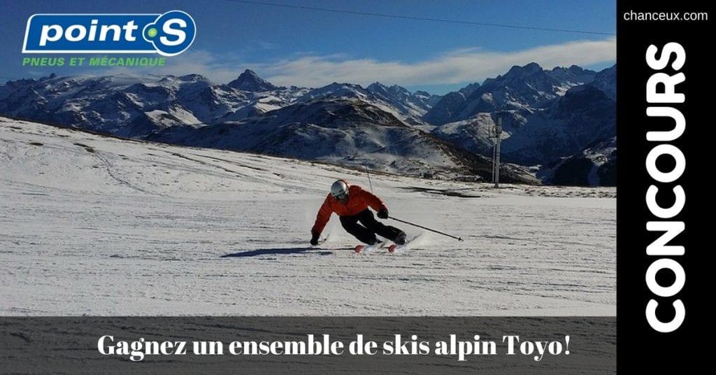 Concours Pneus VillemaireGagnez un ensemble de skis alpin Toyo!