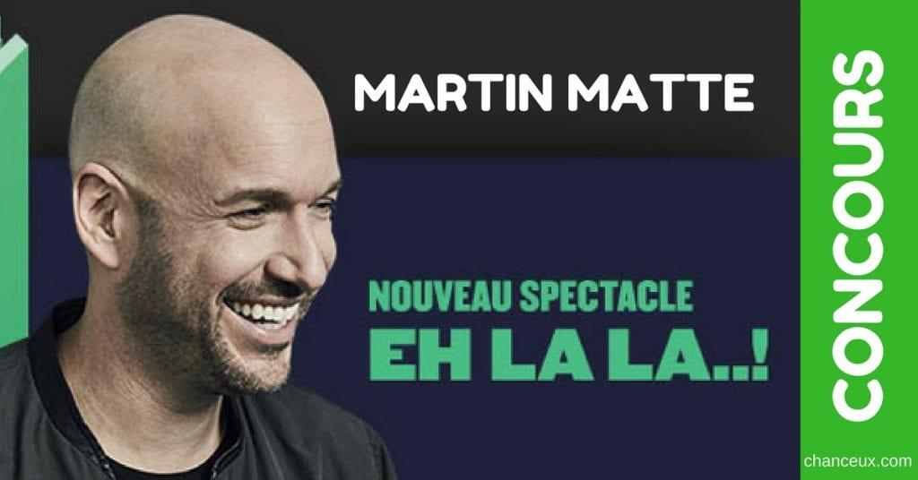 Image d'un concours Martin Matte web du Québec Facebook