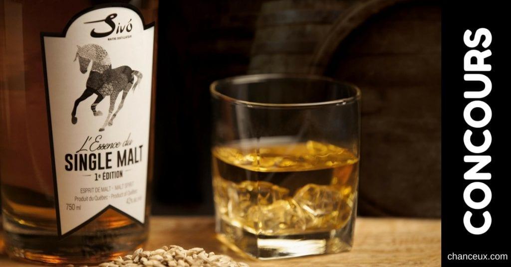 Concours - Vivez une expérience Whisky inoubliable de la Maison Sivo