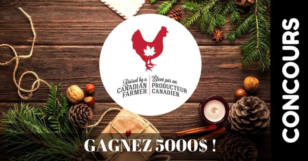 Image d'un concours des producteurs de poulet
