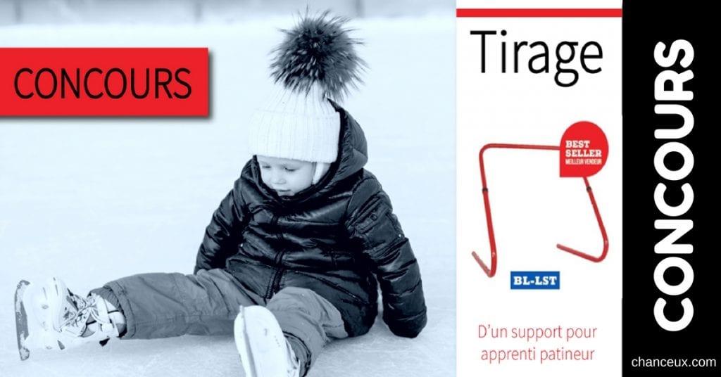 Gagnez un support pour apprenti patineur!