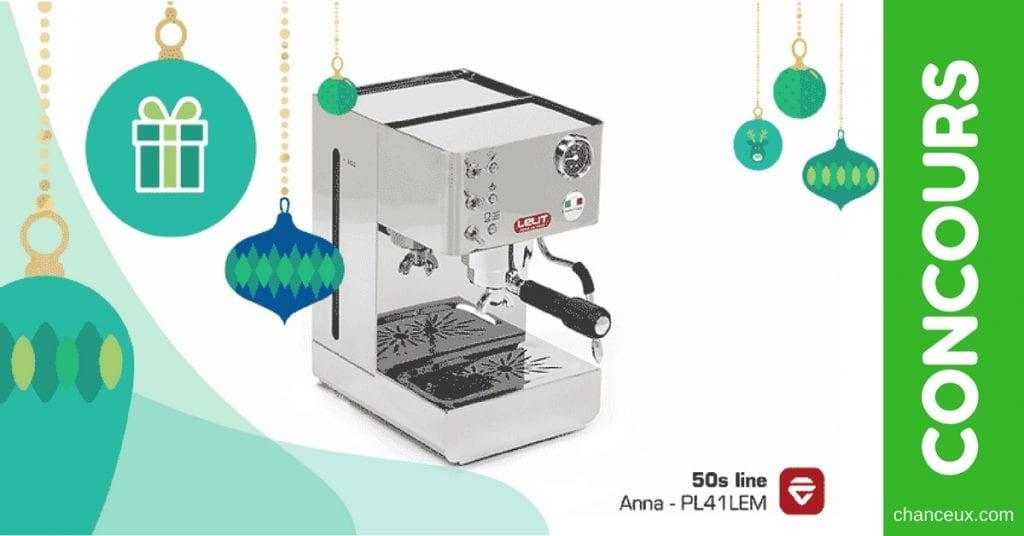Concours Francois Charron - Gagnez une machine à café EDIKA