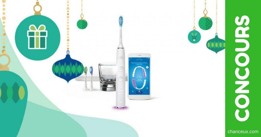Concours Francois Charron - Gagnez une brosse à dents Philips Sonicare