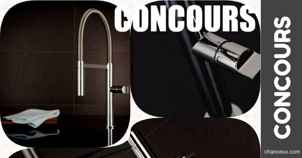 Concours Plomberie Irenée Lacroix - Gagnez un des plus beaux robinets