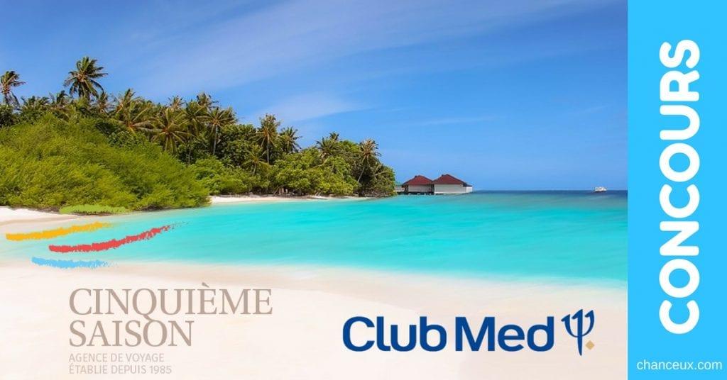 Gagnez un voyage pour deux au Club Med