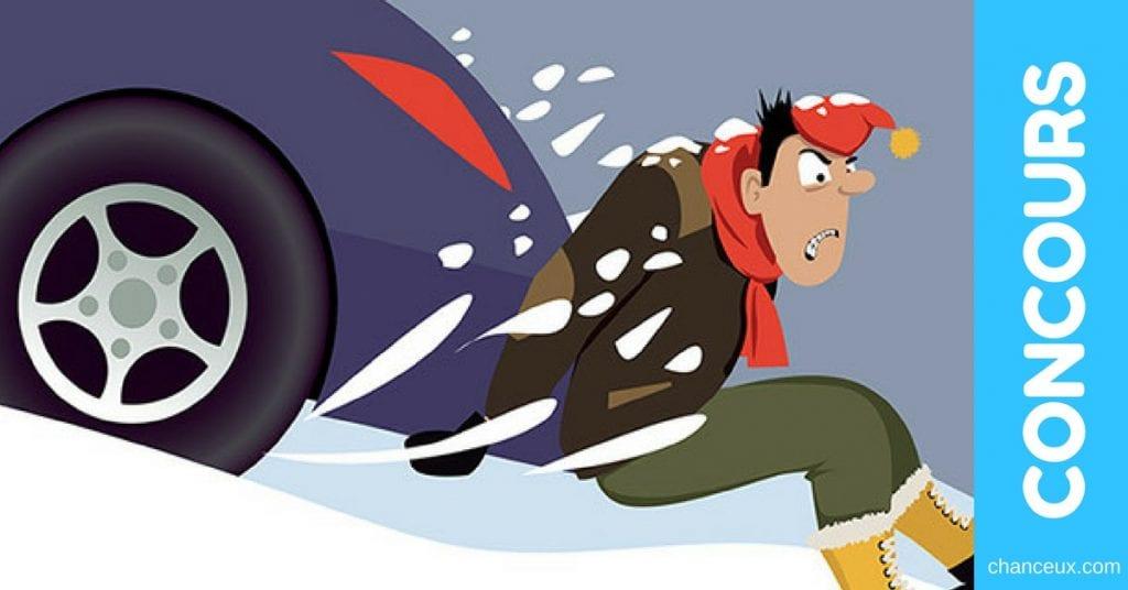 Concours Crédit 24 - Gagnez vos pneus d'hiver !