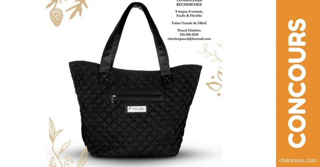 Concours Tocara - Gagnez un sac à main SUSIE d'une valeur de 89$