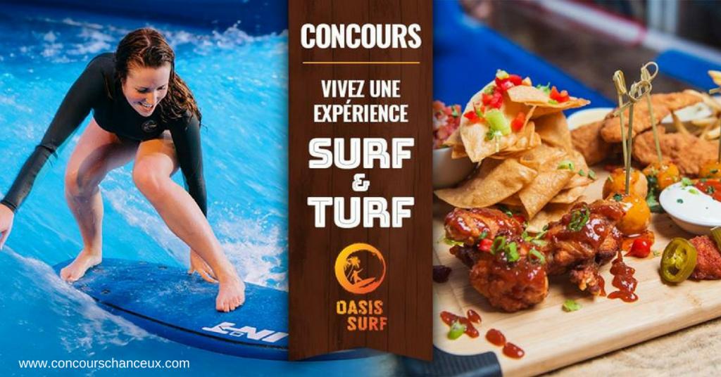 Image surf oasis concours web du Québec Facebook