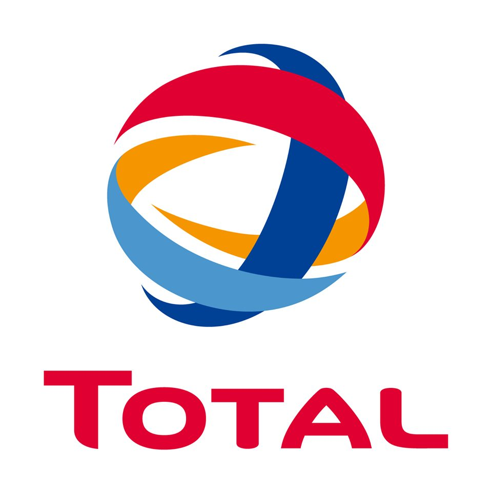 Logo Total sur facebook