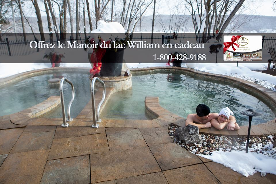 cadeau manoir du lac william