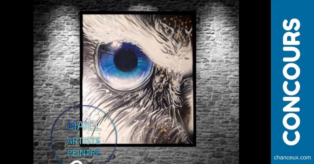 Gagnez cette oeuvre signée Maiel Artiste Peintre!