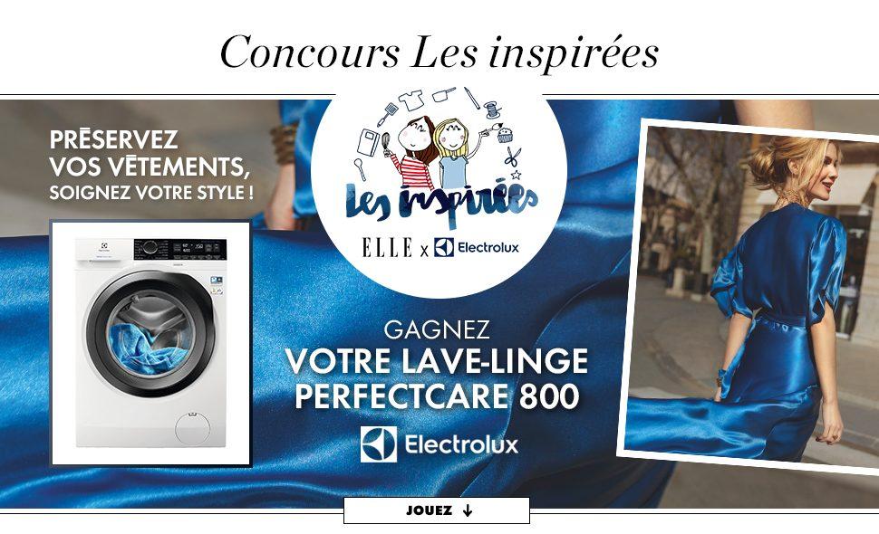 Concours Elle Décoration - Gagner un Lave-Linge Electrolux