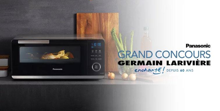 Concours Germain Larivière - Gagnez un four à induction Panasonics