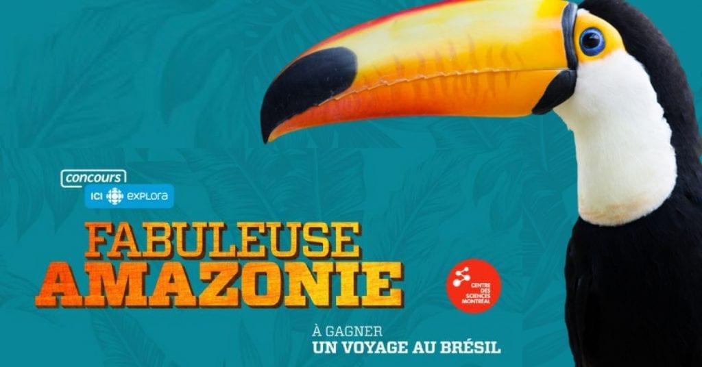 CONCOURS AMAZONIE - Gagnez un voyage au Brézil