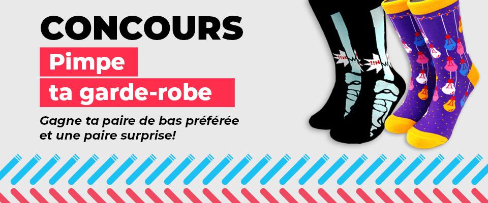 CONCOURS - Gagne ta paire de bas préférée et une paire surprise!