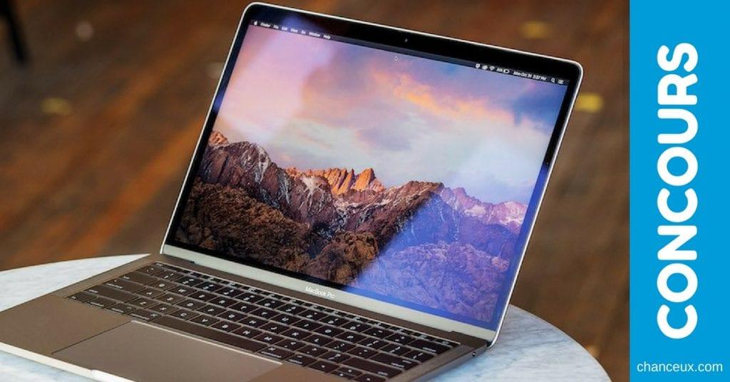 CONCOURS - Gagnez un tout nouveau MacBook Pro, d'une valeur de 1499$