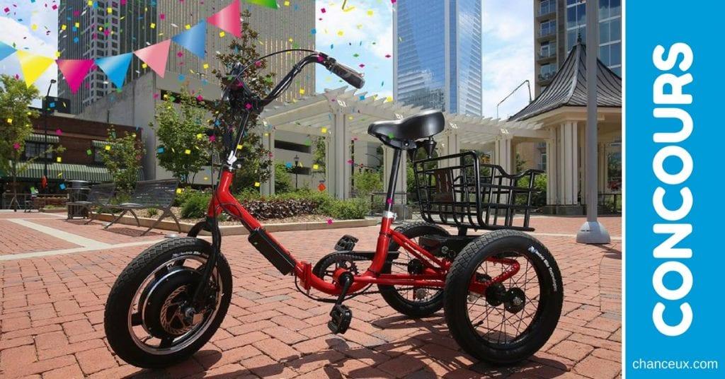 CONCOURS - Gagnez un tricycle Liberty Trike d'une valeur de 1498$!