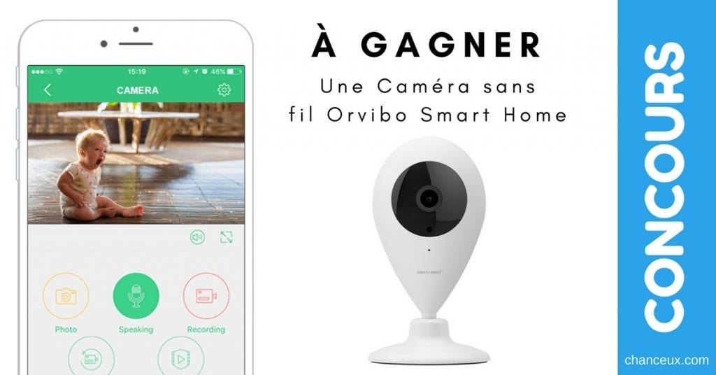 Caméra intelligente sans fil ORVIBO Smart Home