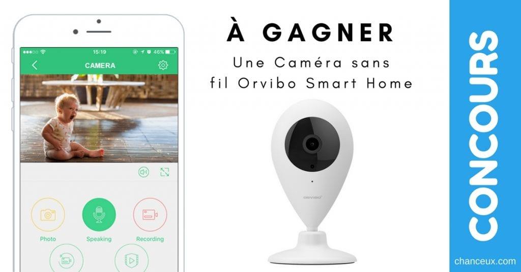 Caméra intelligente sans filORVIBO Smart Home