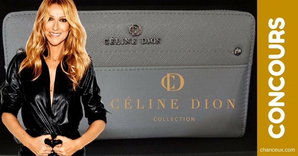 Gagnez un beau porte monnaie de Céline Dion!