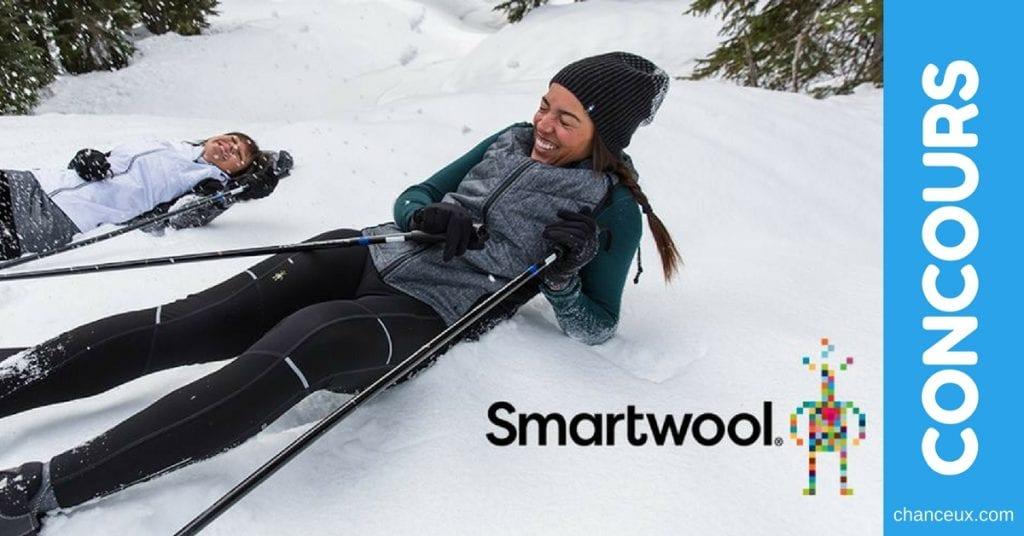 Gagnez un ensemble de couche de bases Merino250 de Smartwool