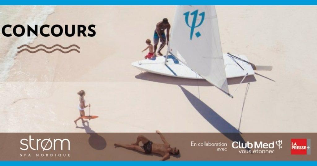 Gagnez un voyage pour 2 dans une destination soleil du Club Med