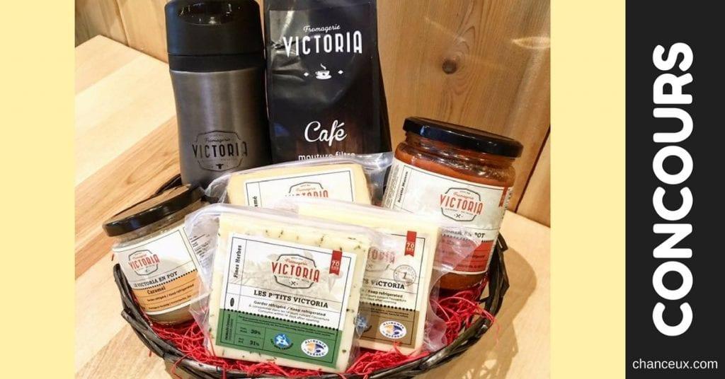 Gagnez un panier cadeau avec nos produits chouchous Victoria