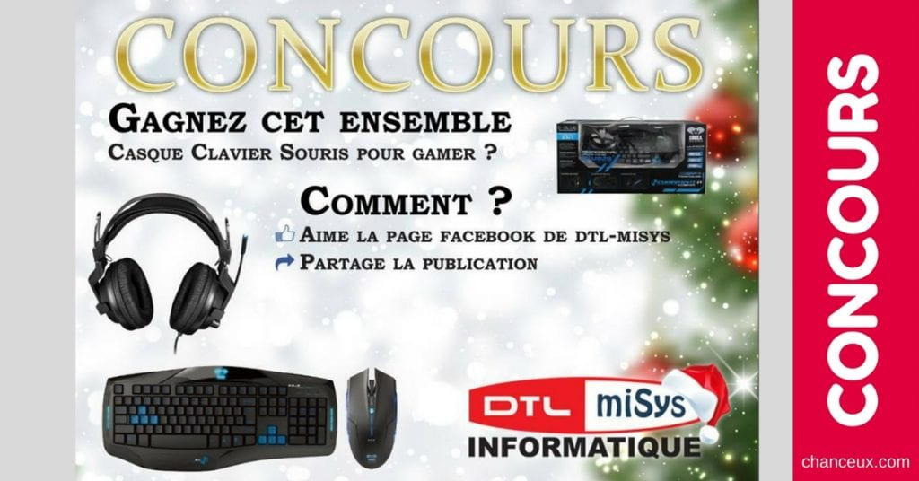 CONCOURS | Clavier souris et casque pour «Gamer» E-Blue d'une valeur de 100 $